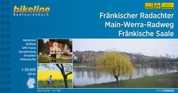 Bikeline Fränkischer Radachter, Main-Werra-Radweg, Fränkische Saale 9783850006941  Esterbauer Bikeline  Fietsgidsen Franken, Nürnberg, Altmühltal
