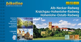 Bikeline Alb-Neckar-Weg, Kraichgau-Hohenlohe-Radweg | fietsgids 9783850006996  Esterbauer Bikeline  Fietsgidsen Heidelberg, Kraichgau, Stuttgart, Neckar