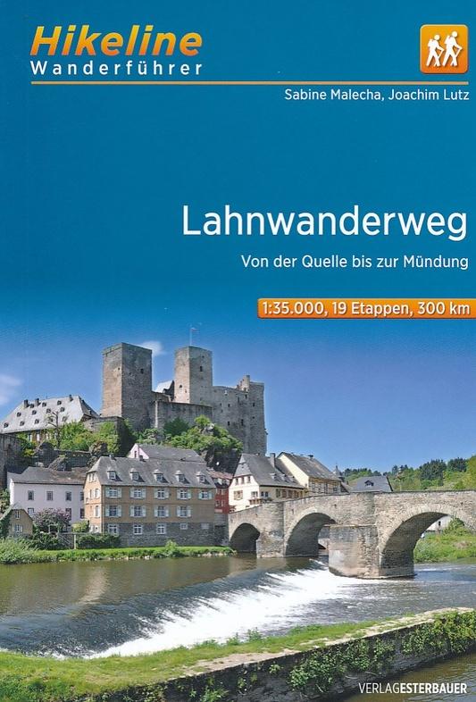Lahnwanderweg | Hikeline Wanderführer (wandelgids) 9783850007092  Esterbauer Hikeline wandelgidsen  Meerdaagse wandelroutes, Wandelgidsen Noord- en Midden-Hessen, Kassel