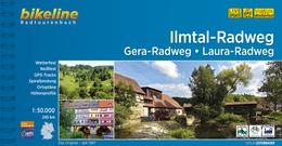 Bikeline Ilmtal-Radweg • Gera-Radweg • Laura-Radweg | fietsgids 9783850007122  Esterbauer Bikeline  Fietsgidsen Thüringen, Weimar, Rennsteig