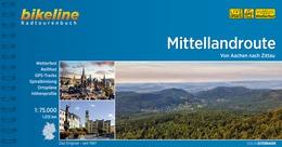 Bikeline Mittellandroute | fietsgids 9783850007245  Esterbauer Bikeline  Fietsgidsen, Meerdaagse fietsvakanties Duitsland