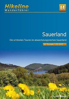 Sauerland | Hikeline Wanderführer (wandelgids) 9783850007269  Esterbauer Hikeline wandelgidsen  Wandelgidsen Sauerland