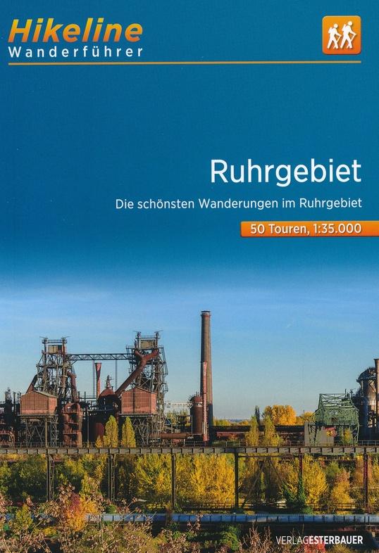 Ruhrgebiet | Hikeline Wanderführer (wandelgids) 9783850007337  Esterbauer Hikeline wandelgidsen  Wandelgidsen Ruhrgebied