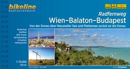 Bikeline Wien-Balaton-Budapest | fietsgids 9783850007351  Esterbauer Bikeline  Fietsgidsen, Meerdaagse fietsvakanties Hongarije, Wenen, Noord- en Oost-Oostenrijk