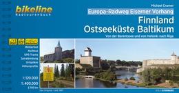 Bikeline Eiserner Vorhang 1:  Finnland / Ostseeküste Baltikum 9783850007375  Esterbauer Bikeline  Fietsgidsen, Meerdaagse fietsvakanties Europa