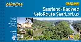 Bikeline Saarland-Radweg • VeloRoute SaarLorLux | fietsgids 9783850007498  Esterbauer Bikeline  Fietsgidsen, Meerdaagse fietsvakanties Saarland, Hunsrück