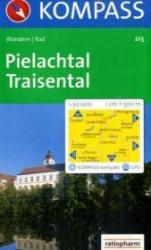 KP-213  Pielachtal, Traisental, St-Pölten | Kompass wandelkaart 9783850260329  Kompass Wandelkaarten Kompass Oostenrijk  Wandelkaarten Wenen, Noord- en Oost-Oostenrijk
