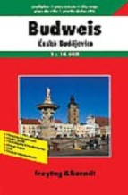 Ceske Budejovice (Budweis)   stadsplattegrond 9783850841665  Freytag & Berndt   Stadsplattegronden Tsjechië
