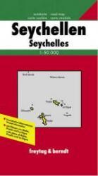 Seychellen | autokaart, wandelkaart 1:50.000 9783850842419  Freytag & Berndt   Landkaarten en wegenkaarten Seychellen, Reunion, Comoren, Mauritius