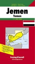 Jemen | autokaart, wegenkaart 1:1.500.000 9783850843065  Freytag & Berndt   Landkaarten en wegenkaarten Oman, Abu Dhabi, Dubai, Saudi-Arabië, Jemen
