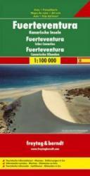 Fuerteventura | autokaart, wegenkaart 1:100.000 9783850843102  Freytag & Berndt   Landkaarten en wegenkaarten Fuerteventura