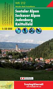WK-212 Seetaler Alpen/Seckauer Alpen/Knittelfeld 9783850846813  Freytag & Berndt WK 1:50.000  Wandelkaarten Salzburg, Karinthië, Tauern, Stiermarken
