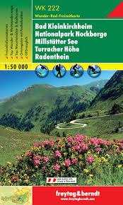 WK-222 Bad Kleinkichheim NP Nockberge 9783850847223  Freytag & Berndt WK 1:50.000  Wandelkaarten Salzburg, Karinthië, Tauern, Stiermarken