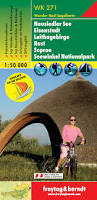 WK-271  Neusiedler See,Rust,Seewinkel 9783850847278  Freytag & Berndt WK 1:50.000  Wandelkaarten Wenen, Noord- en Oost-Oostenrijk