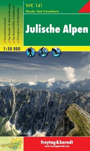 WK-141  Julische Alpen | wandelkaart 9783850847353  Freytag & Berndt WK 1:50.000  Wandelkaarten Slovenië