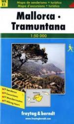 WK-E01  Mallorca Tramuntana 1:50.000 9783850848114  Freytag & Berndt Wandelkaarten Spanje  Wandelkaarten Mallorca