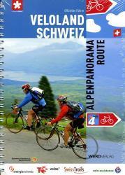 Band 4  Alpenpanorama-Route 9783859325678  Werd Verlag Veloland Schweiz  Fietsgidsen, Meerdaagse fietsvakanties Zwitserland