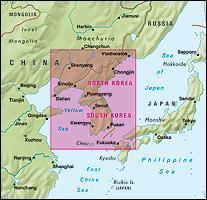 Korea | wegenkaart - overzichtskaart 1:1.500.000 9783865740526  Nelles Nelles Maps  Landkaarten en wegenkaarten Noord-Korea, Zuid-Korea