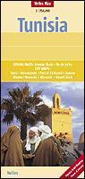 Tunisia | wegenkaart - overzichtskaart 1:750.000 9783865740755  Nelles Nelles Maps  Landkaarten en wegenkaarten Algerije, Tunesië, Libië