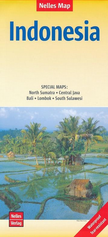 Indonesie - overzichtskaart | wegenkaart - overzichtskaart 1:4.500.000 9783865740946  Nelles Nelles Maps  Landkaarten en wegenkaarten Indonesië