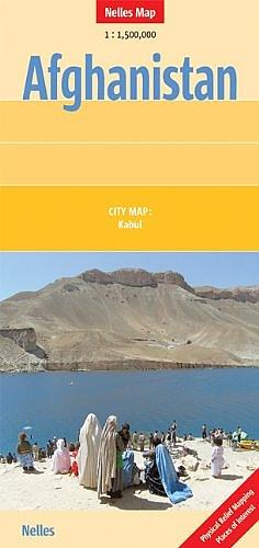 Afghanistan | wegenkaart - overzichtskaart 1:1.500.000 9783865742001  Nelles Nelles Maps  Landkaarten en wegenkaarten