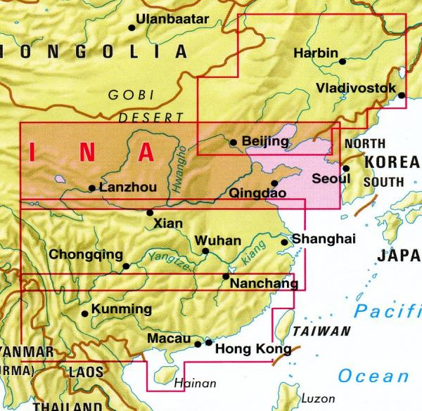 China 02  Northern China | wegenkaart - overzichtskaart 1:1.750.000 9783865742148  Nelles Nelles Maps  Landkaarten en wegenkaarten China (Tibet: zie Himalaya)