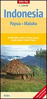 Papua, Maluku | wegenkaart - overzichtskaart 1:1.500.000 9783865742834  Nelles Nelles Maps  Landkaarten en wegenkaarten Indonesië