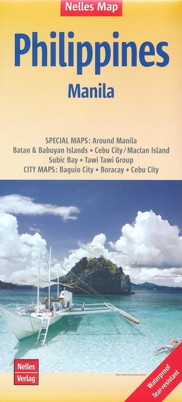 Philippines | wegenkaart - overzichtskaart 1:1.500.000 9783865744449  Nelles Nelles Maps  Landkaarten en wegenkaarten Filippijnen