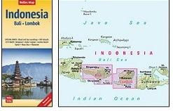 Indonesie 04: Bali, Lombok | wegenkaart - overzichtskaart 1:180.000 9783865745095  Nelles Nelles Maps  Landkaarten en wegenkaarten Indonesië