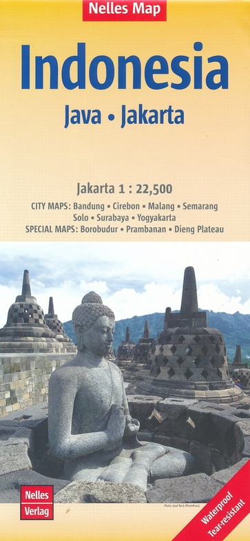 Indonesie 05: Java | wegenkaart - overzichtskaart 1:750.000 9783865745545  Nelles Nelles Maps  Landkaarten en wegenkaarten Indonesië