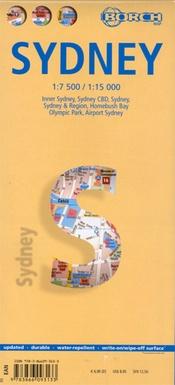 Sydney 1:7.000 / 15.000 | stadsplattegrond 9783866093133  Berndtson / Borch   Stadsplattegronden Australië