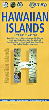 Hawaiian Islands 1:200.000 9783866093201  Berndtson / Borch   Landkaarten en wegenkaarten Hawaii