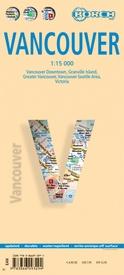 Vancouver Map 1:15.000 | stadsplattegrond 9783866093294  Berndtson / Borch   Stadsplattegronden West-Canada, Rockies
