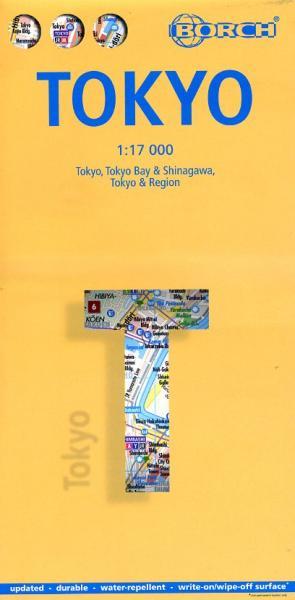 Tokyo Citymap 1:17.000 | stadsplattegrond 9783866093300  Berndtson / Borch   Stadsplattegronden Japan