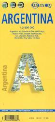 Argentina 1:3.800.000 9783866093867  Berndtson / Borch   Landkaarten en wegenkaarten Argentinië