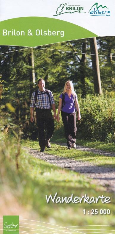Brilon - Olsberg - Willingen | wandelkaart 1:25.000 9783866369191  Grünes Herz   Wandelkaarten Sauerland