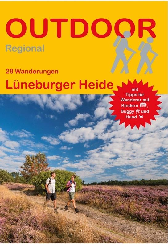Lüneburger Heide | wandelgids (Duitstalig) 9783866865532  Conrad Stein Verlag Outdoor - Der Weg ist das Ziel  Wandelgidsen Lüneburger Heide, Hannover, Weserbergland