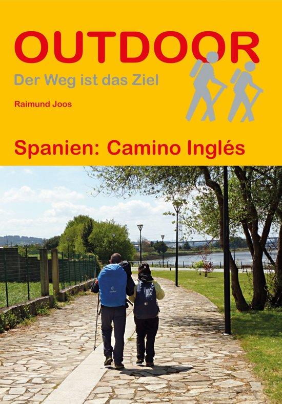 Camino Inglés (Outdoor 343) | wandelgids Jacobsroute 9783866866089  Conrad Stein Verlag Outdoor - Der Weg ist das Ziel  Santiago de Compostela, Wandelgidsen Noordwest-Spanje, Compostela, Picos de Europa