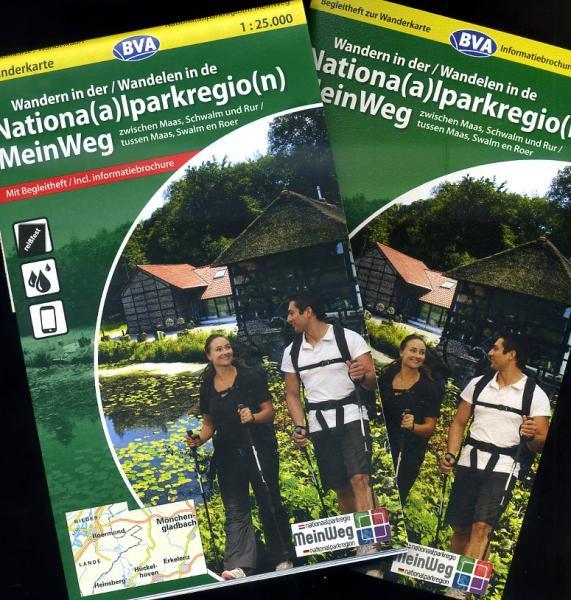 NP Meinweg 1:25.000 9783870735081  BVA   Wandelkaarten Noord- en Midden-Limburg