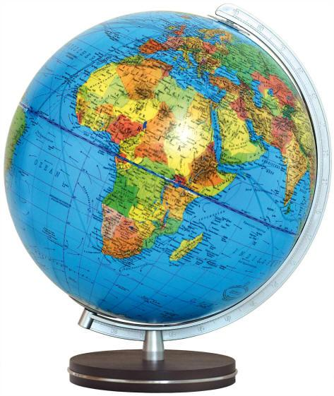 wereldbol 403441, 34cm 9783871297489  Columbus Globes / Wereldbollen  Cadeau-artikelen, Globes Wereld als geheel