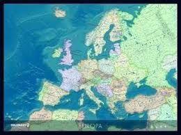 [25] Europa 9783871298028  Columbus   Wandkaarten Europa