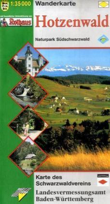 WHW Hotzenwald 1:30.000 9783890215938  LVA BW   Wandelkaarten