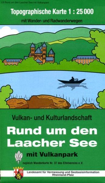 EV-37  Rund um den Laacher See | wandelkaart 1:25.000 9783896373359  Eifelverein Wandelkaarten Eifel  Wandelkaarten Eifel