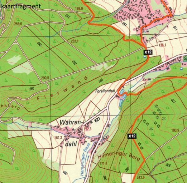 Wanderkarte NRW: Hansaweg | wandelkaart 1:25.000 9783897107205  Bonifatius Grüne Reihe  Wandelkaarten Teutoburger Woud & Ostwestfalen