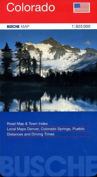 Colorado 1:825.000 9783897641501  Busche   Landkaarten en wegenkaarten Colorado, Arizona, Utah, New Mexico