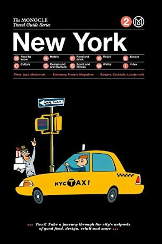 The Monocle Travel Guide to New York | reisgids 9783899555752  Gestalten   Reisgidsen New York, Pennsylvania, Washington DC