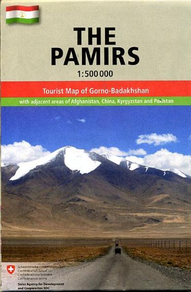 The Pamirs 1:500.000 9783906593357  Gecko Maps   Landkaarten en wegenkaarten Centraal-Aziatische republieken (Kazachstan, Uzbekistan, Turkmenistan, Kyrgysztan, Tadjikistan)