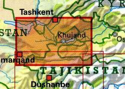 Northern Tajikistan 1:500.000 9783906593456  Gecko Maps   Landkaarten en wegenkaarten Centraal-Aziatische republieken (Kazachstan, Uzbekistan, Turkmenistan, Kyrgysztan, Tadjikistan)