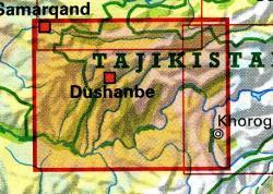 Southern Tajikistan 1:500.000 9783906593463  Gecko Maps   Landkaarten en wegenkaarten Centraal-Aziatische republieken (Kazachstan, Uzbekistan, Turkmenistan, Kyrgysztan, Tadjikistan)