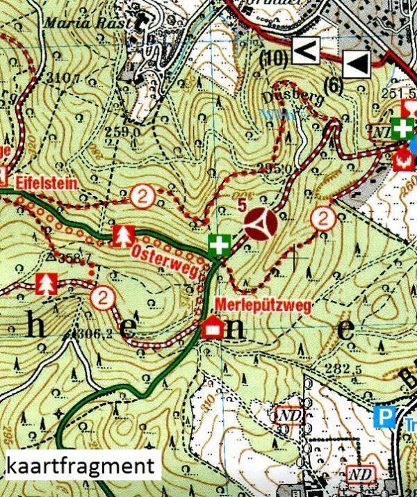 wandelkaart EV-01  Aachen - Eschweiler - Stolberg 1:25.000 9783921805947  Eifelverein Wandelkaarten Eifel  Wandelkaarten Aken, Keulen en Bonn